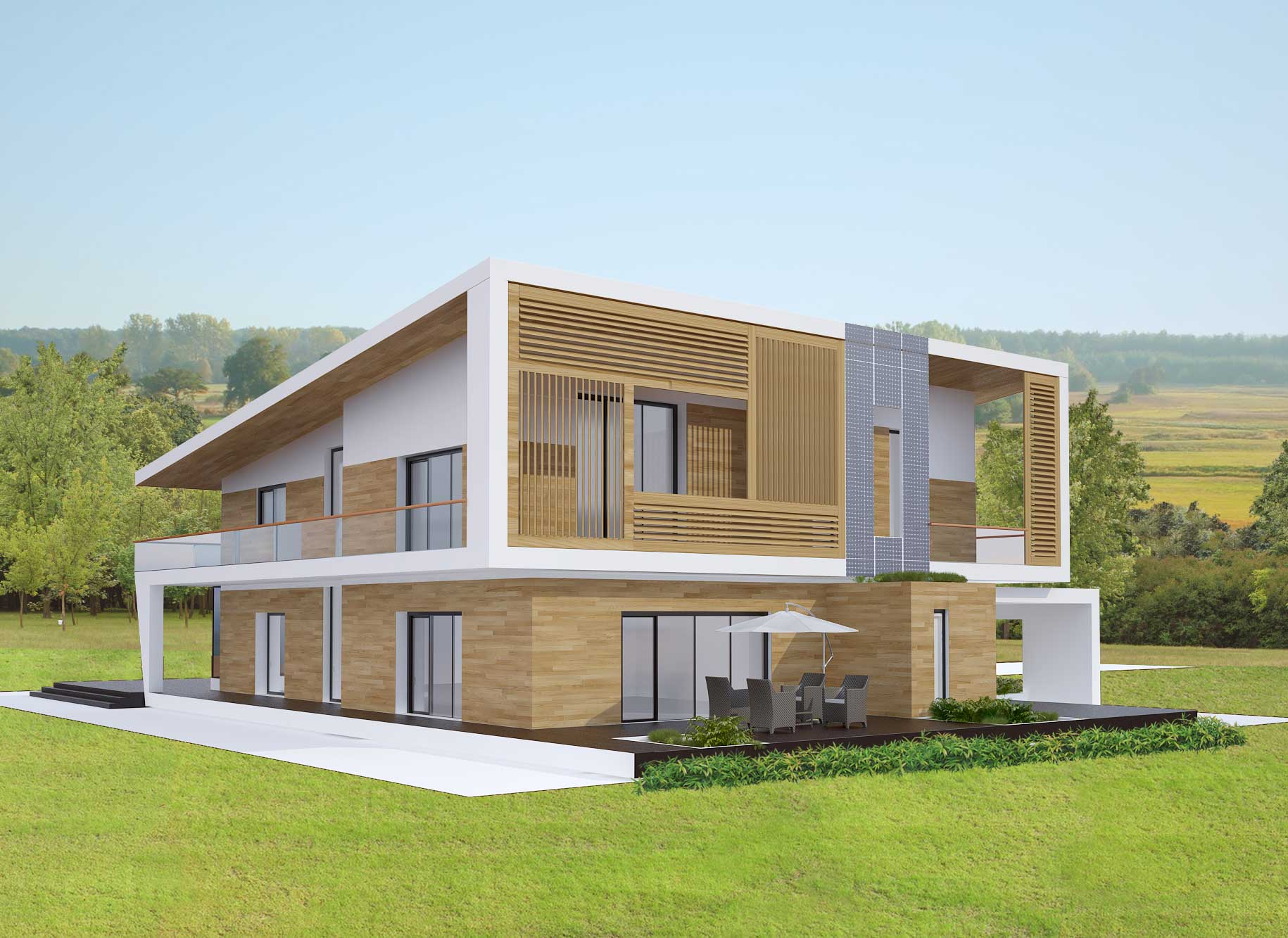 individuelle haus moskau region apriori. Black Bedroom Furniture Sets. Home Design Ideas